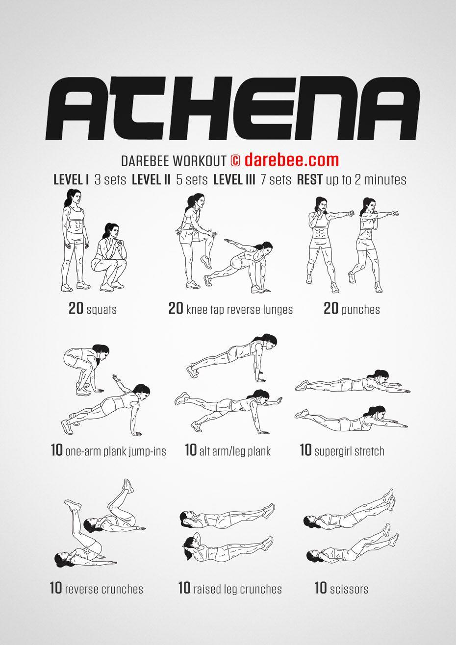 Complete Full Body Workout   Edzéstervek, Hasizom, Női edzés