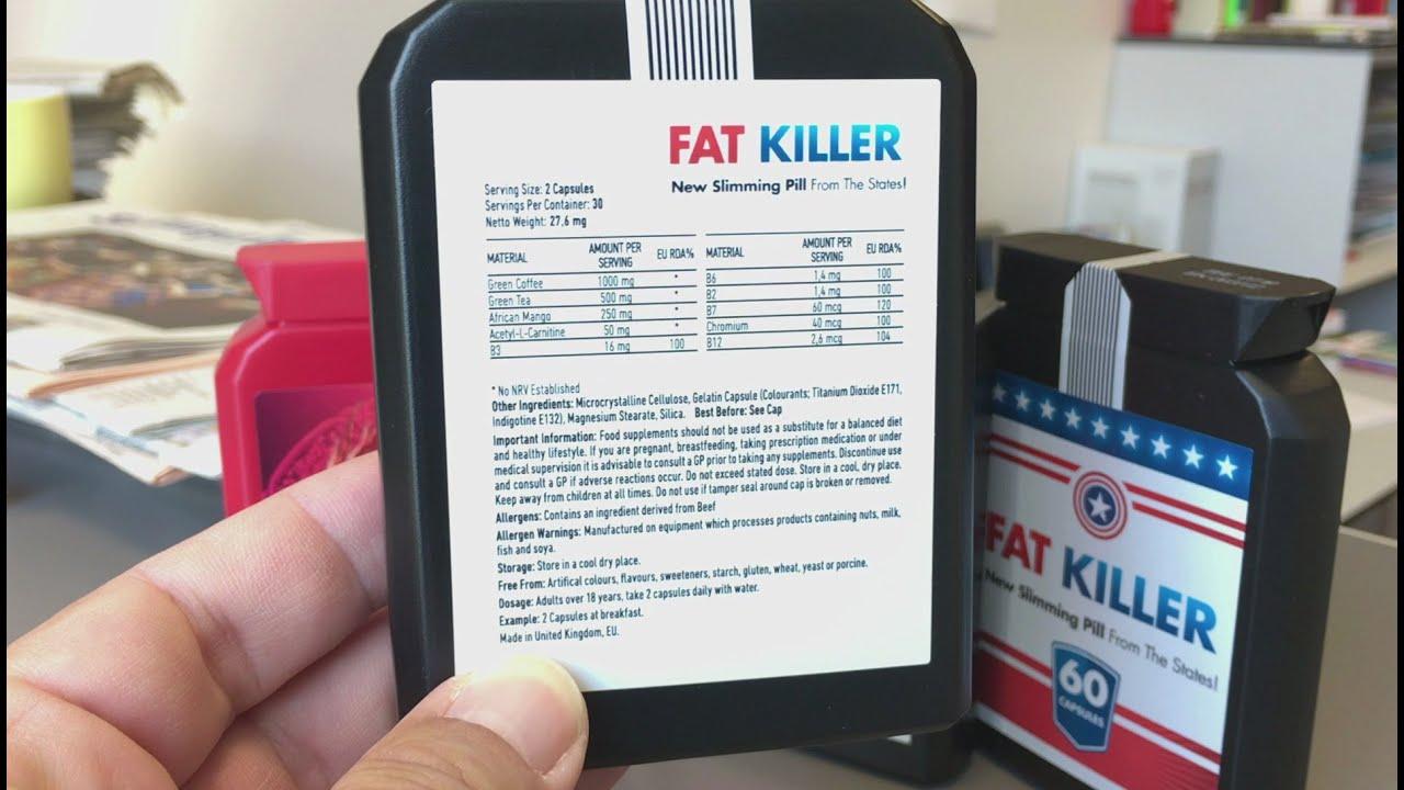 fatkiller zum abnehmen
