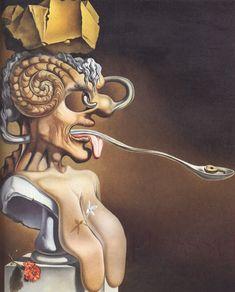 Dalí - Női kapucnis pulóver | Print Fashion