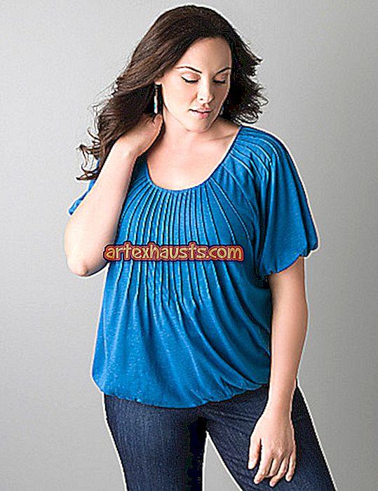 A legnépszerűbb 20 vékony ruhák kövér nők számára