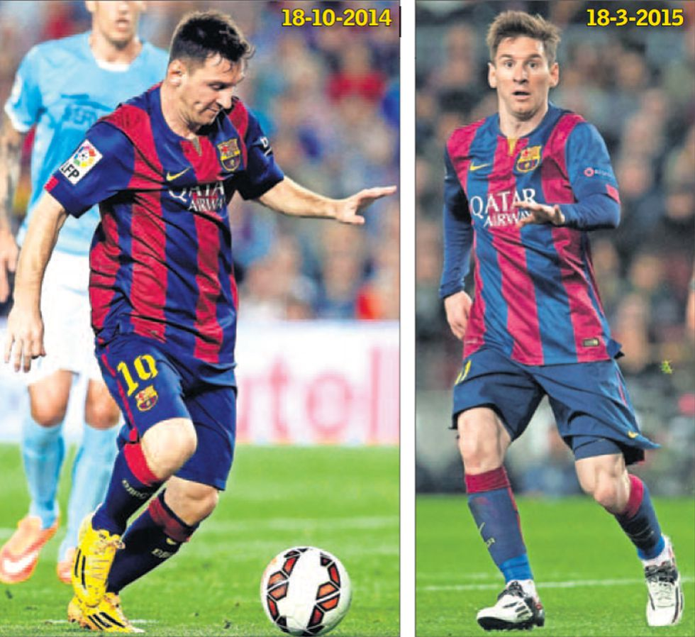 lionel messi fogyás