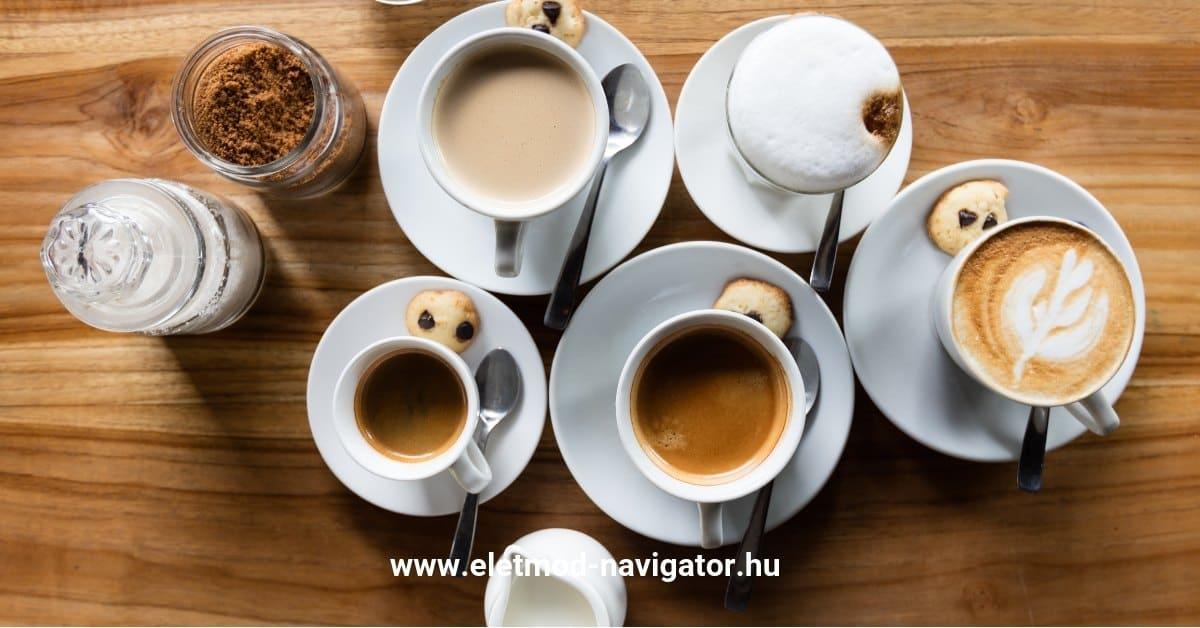 csinál a fekete kávé fogyni?