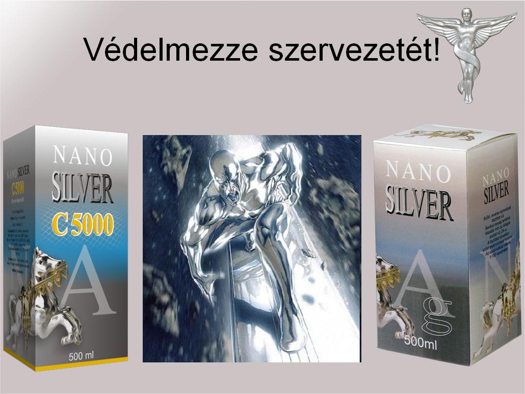 kolloid ezüst súlycsökkenés