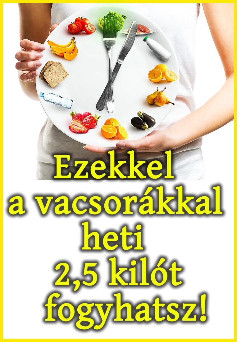 egészséges fogyás kiló hetente)