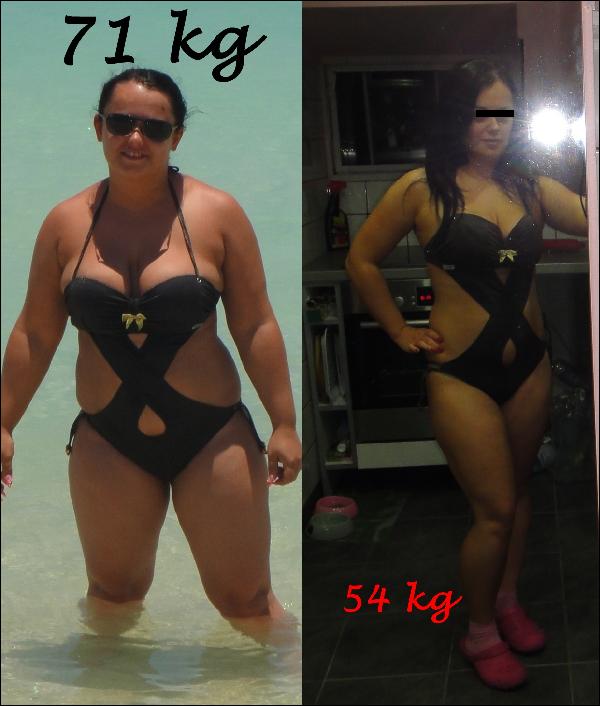 2 kg súlycsökkenés havonta)