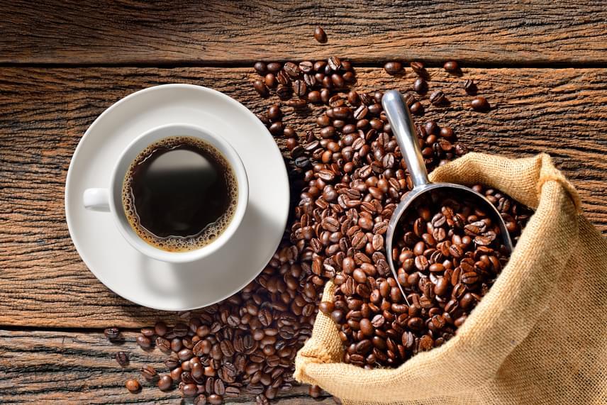 a fekete kávé fogyáshoz vezet- e