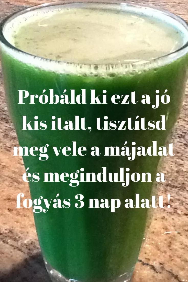 legjobb természetes italok a fogyáshoz