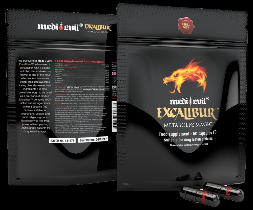excalibur fogyás