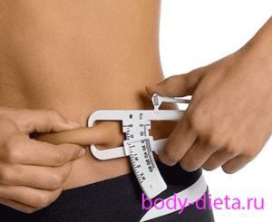A testzsír százalékarány és a súlycsökkenés fontossága