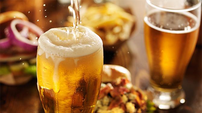 sör és fogyás