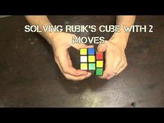 Össze egy Rubik-kocka vakon fogyás módja