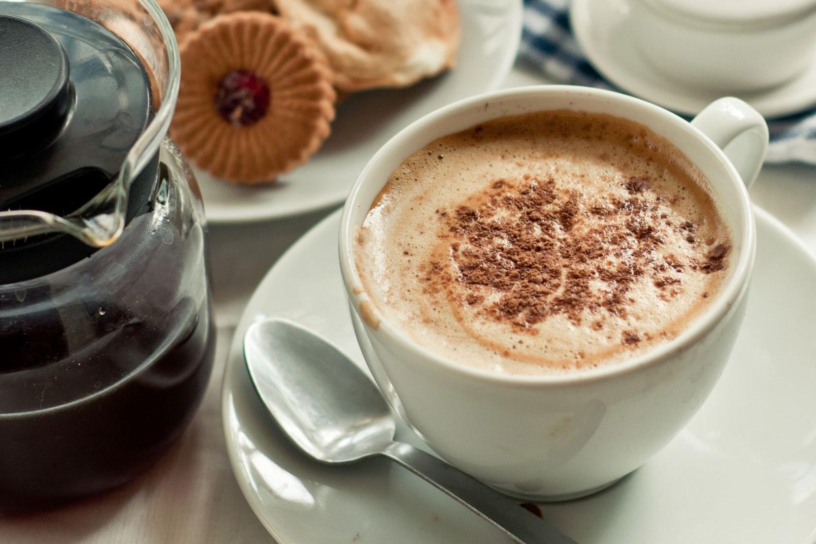 kávé, mint fogyás