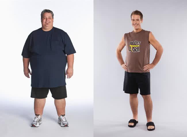 kövér ember fogyás