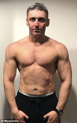Elképesztő változás: 12 hét alatt lett izompacsirta a 45 éves férfi - Blikk