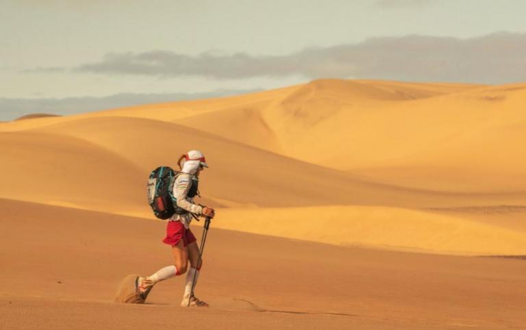 Vízfakasztás a sivatagban