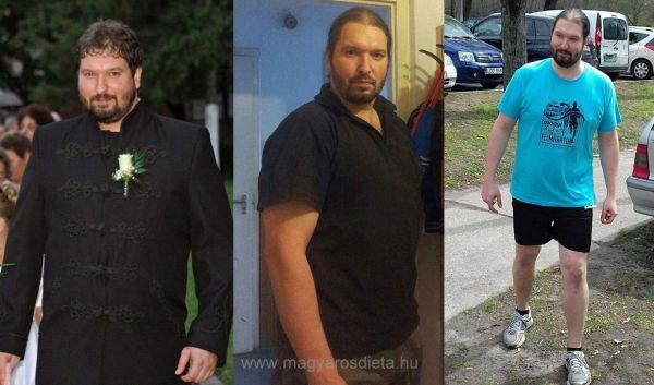 Példás akaraterő: 100 kilót fogyott a fiatalember