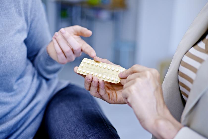 fogyni fogamzásgátlóval