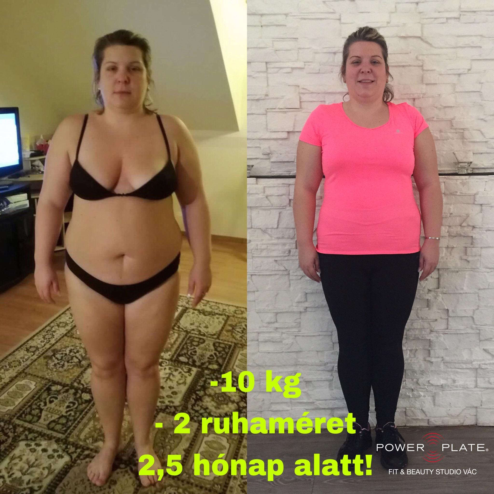 2 hónap alatt 10 kg-t lehet fogyni? Lent a többi!