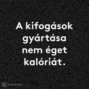 hetente 1 font zsírt éget)