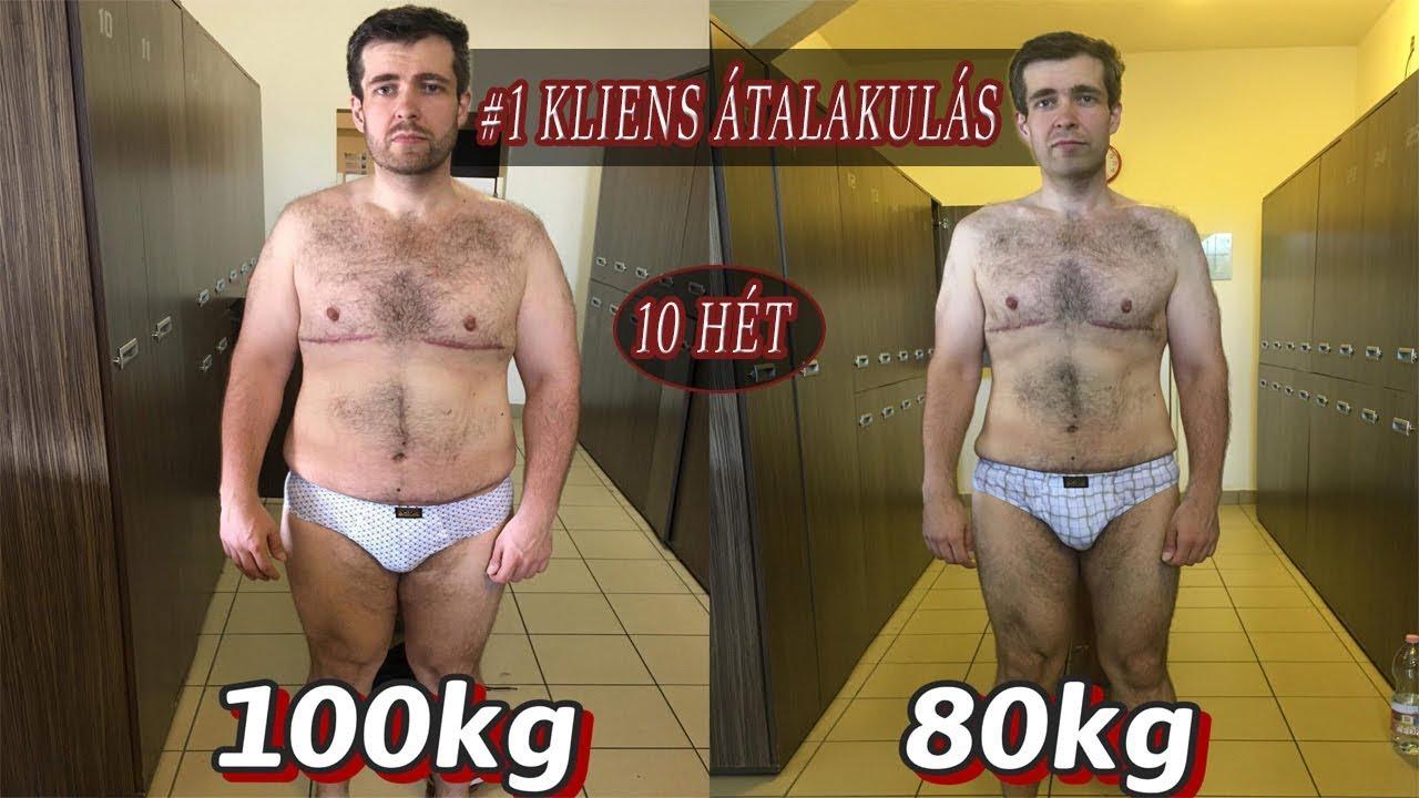 maximális fogyás hónap)