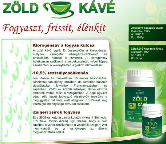 kávé fogyás kiegészítő)