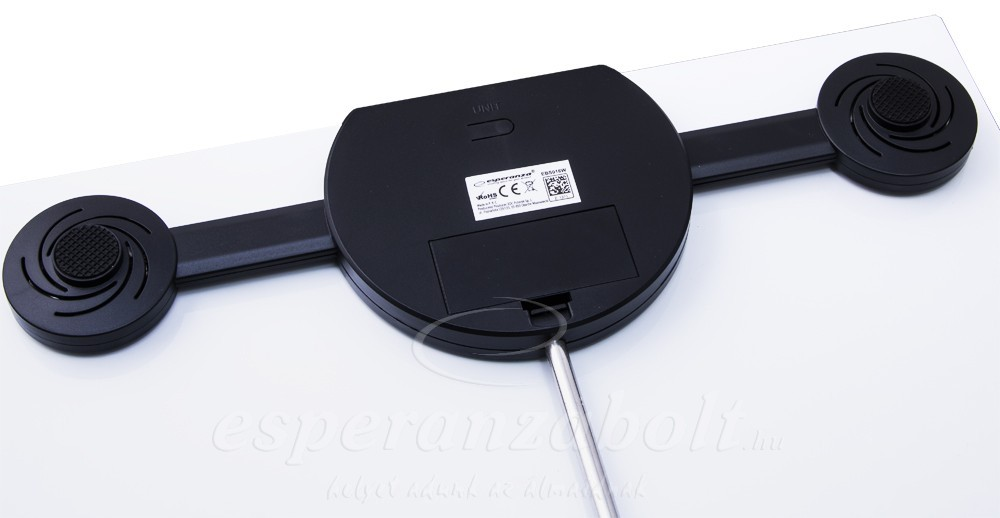 Esperanza EBSK tdke.hu 8 in1 Bluetooth fürdőszoba mérleg fekete