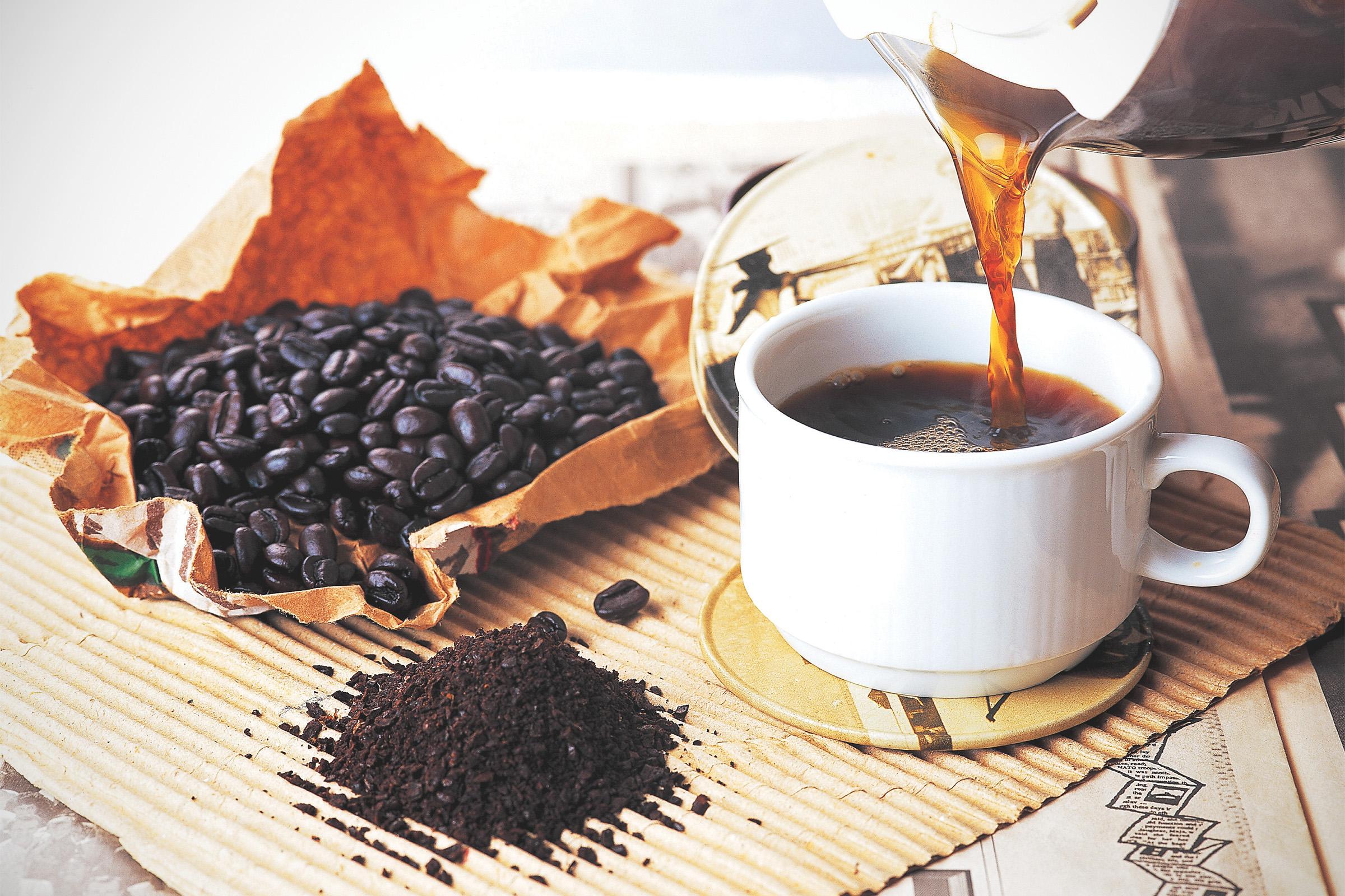 fekete kávé fogyás