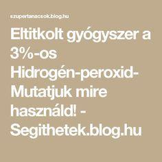 hidrogén- peroxid fogyás)