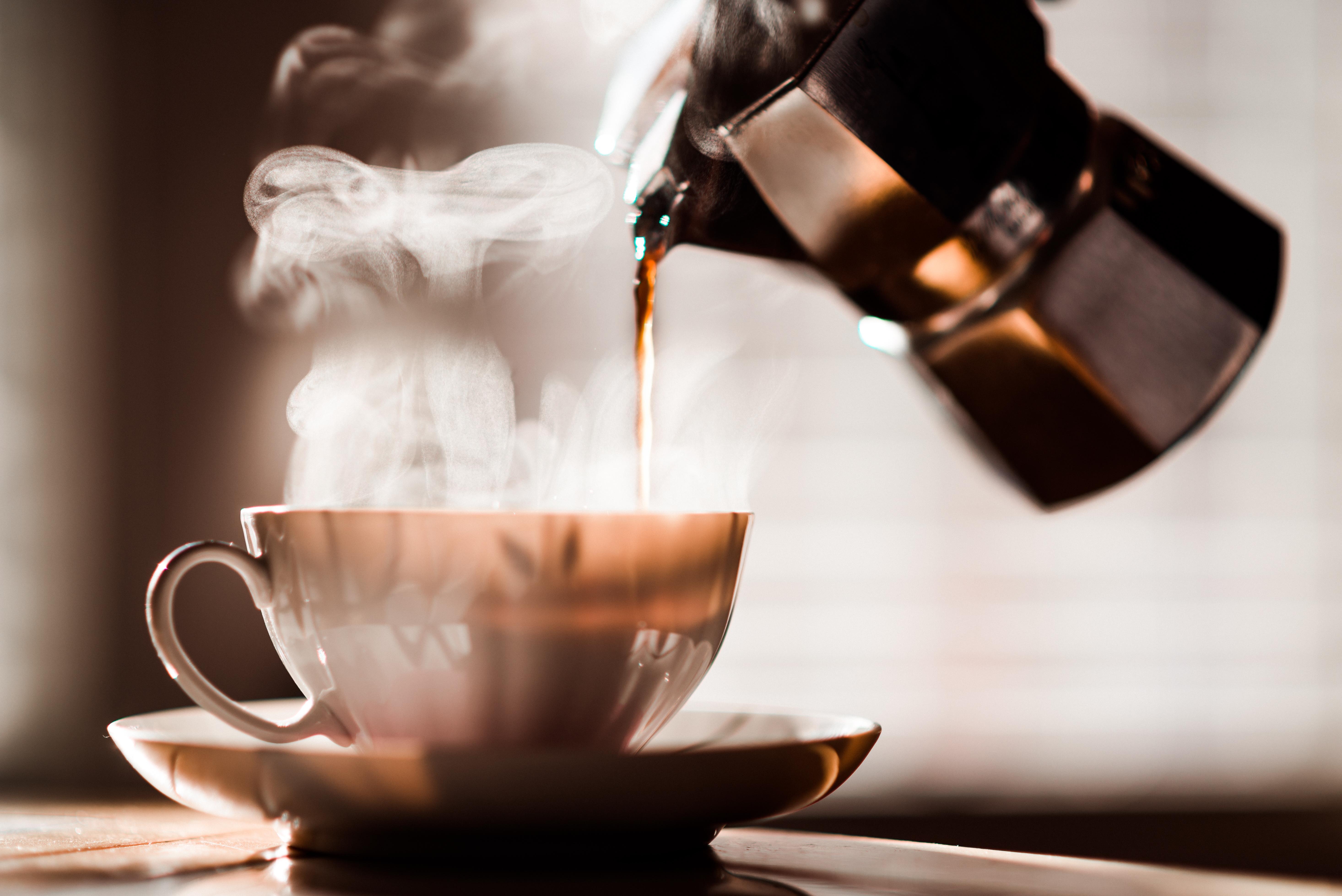 égő zsír kávé