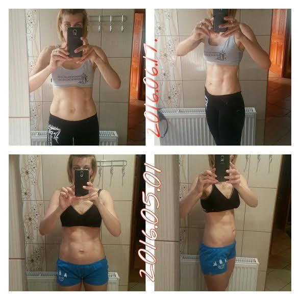 három hónapos fogyás eredménye)