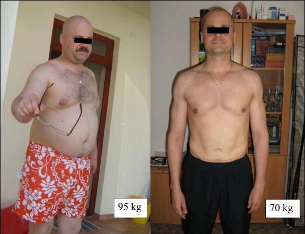 95 kg fogyni)