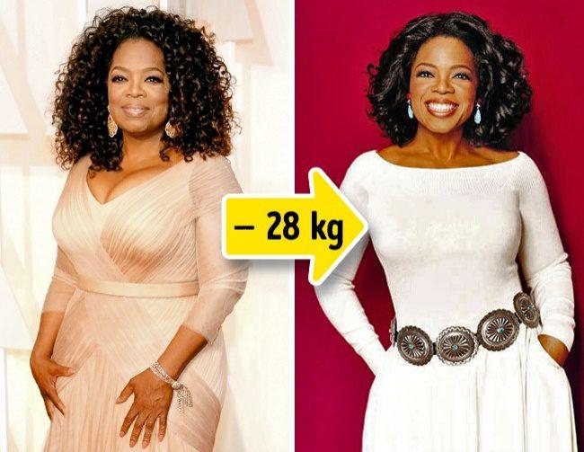 18 kilót fogyott Oprah Winfrey
