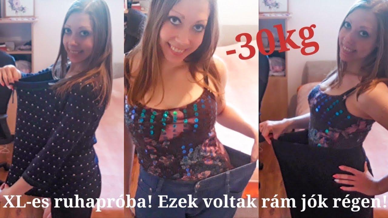 30 kiló fogyás)