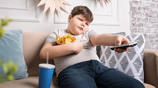 gyereknek le kell fogynia
