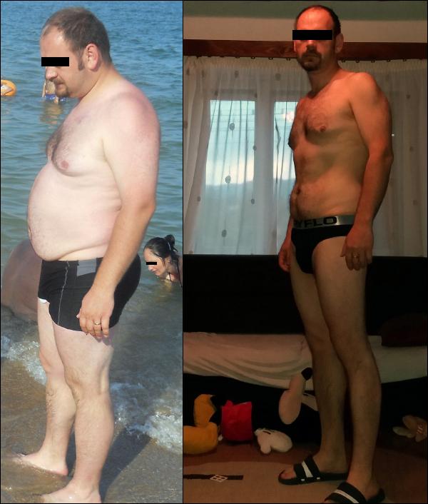 42 kilós fogyás