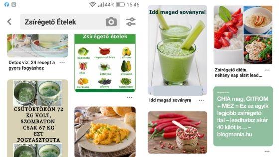 mit kell enni, amikor zsírt éget)